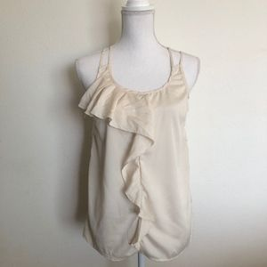 NWOT Cream colored blouse